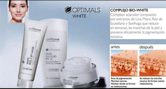 Complejo Bio White Optimals