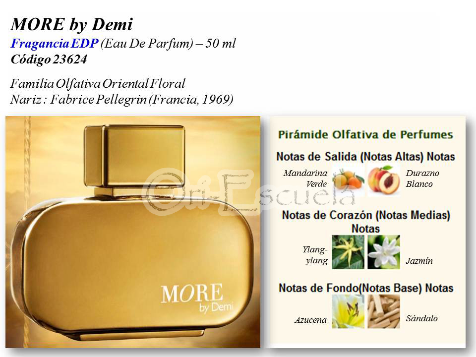 MORE by Demi EDP