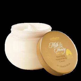 Crema Nutritiva de Manos y Cuerpo Milk & Honey