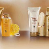 Linea de Tratamiento Corporal Milk & Honey Gold by Oriflame