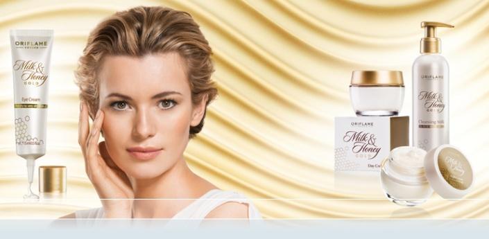 Nueva Facial Milk & Honey Gold