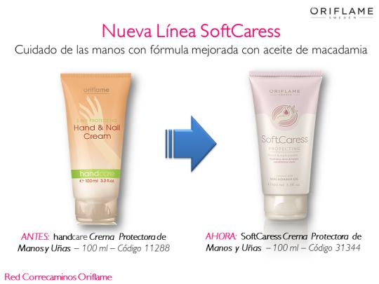 SoftCaress Crema de Manos y Uñas para Piel Seca