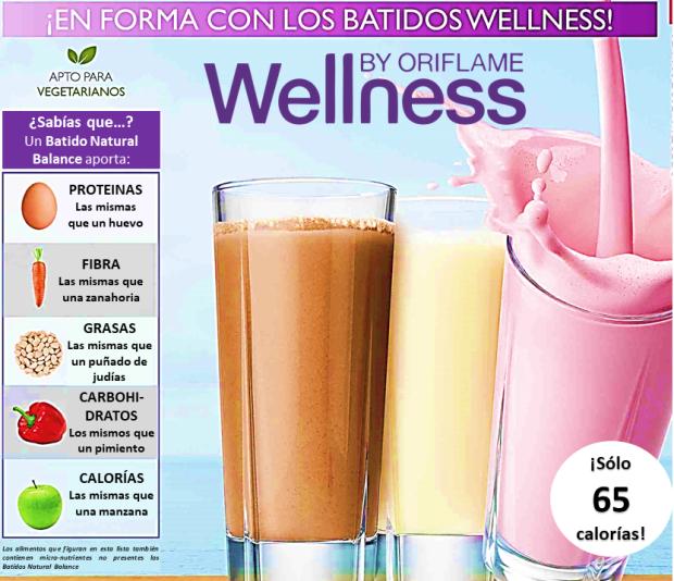 APorte de Wellness by Oriflame - Batidos o Malteadas