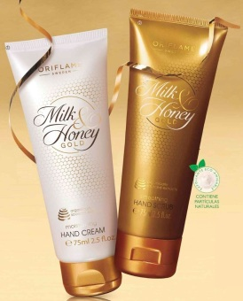 Crema y Exfoliante de Manos Milk & Honey