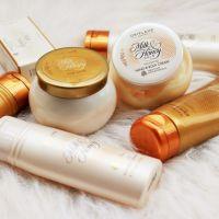 Línea Milk & Honey Gold (Leche y Miel de Oro) de Oriflame