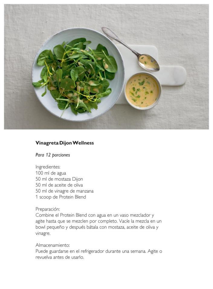 Recetario Igëlosa Wellness by Oriflame