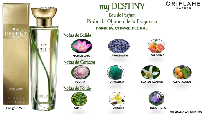 My Destinity EDP by Oriflame