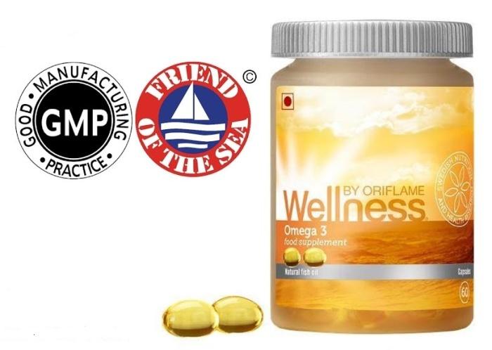 Certificados de Omega 3 Wellness by Oriflame