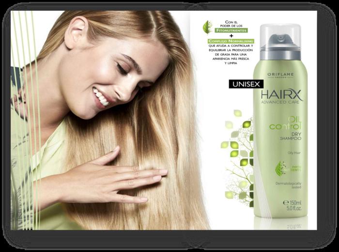 Shampoo en Seco para Cabello Graso Hair X Advanced