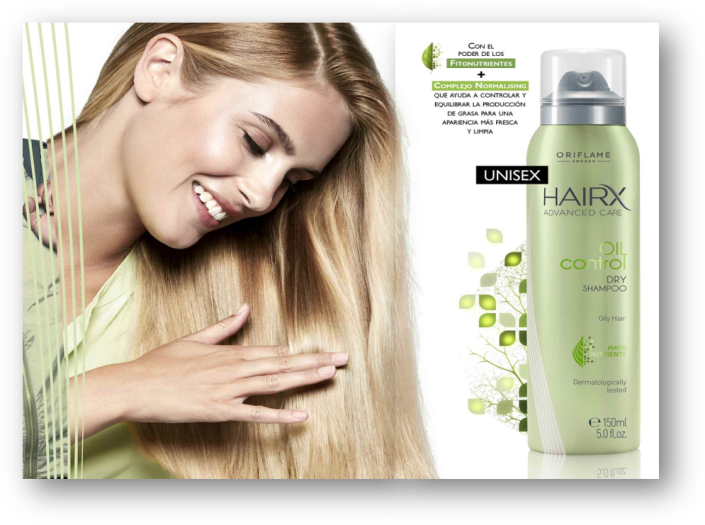 Shampoo en Seco para Cabello Graso Hair X Advanced