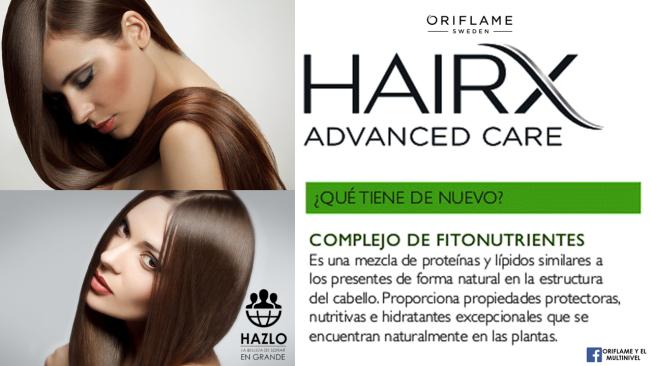 ORIFLAME HAIR X ADVANCE CARE - FITONUTRIENTES